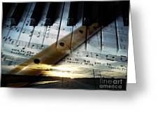 Of Music Greeting Card
