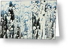Of Snow And Clouds Greeting Card
