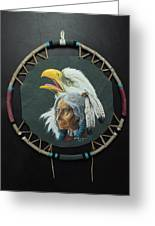 Of The Eagle Clan Greeting Card