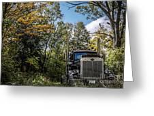 Off Road Trucker Greeting Card