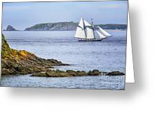 Off Saint-malo Greeting Card