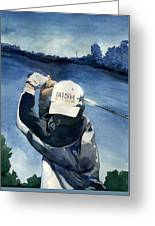 Off The Tee Greeting Card