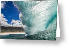 Off The Wall Greeting Card by Doug Falter