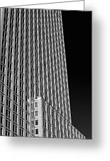 Office Tower  Montreal, Quebec, Canada Greeting Card