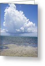 Offshore Storm Greeting Card