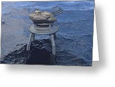 Offshore Turret Greeting Card