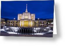 Ogden Temple II Greeting Card