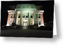 Oglebay Hall At Night Greeting Card
