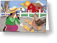 Oh Chick Greeting Card