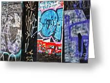 Oh Yes - Graffiti Greeting Card