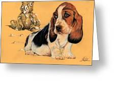 Ohhh Eee Teddy Bear Greeting Card