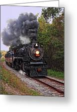 Ohio Central #1293 Steam Greeting Card