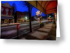 Ohio Christmas Eve Greeting Card