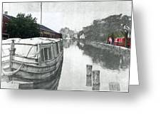Ohio Erie Canal - Retouched Greeting Card