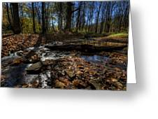 Ohio Fall Beauty Scene Greeting Card