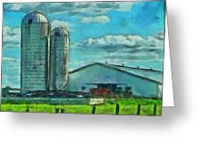Ohio Farm Greeting Card