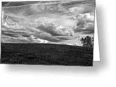 Ohio Spring Clouds 2013 Greeting Card
