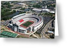 Ohio Stadium Aerial Greeting Card