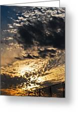 Ohio Sunset 2 Greeting Card