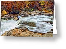 Ohiopyle Falls 2 Greeting Card