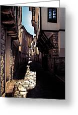 Ohrid Streets Greeting Card