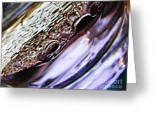 Oil And Water 29 Greeting Card by Sarah Loft