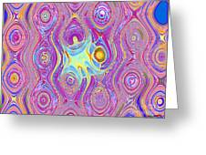 Oil And Water Greeting Card by Bobby Hammerstone