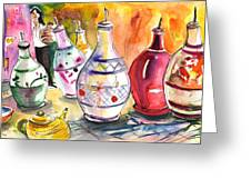 Oil Dispensers From Taormina Greeting Card