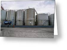 Oil Recycling Works Greeting Card