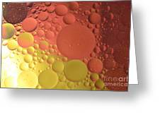 Oils Spots  Greeting Card