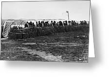 Ojibwa Lodge, 1909 Greeting Card
