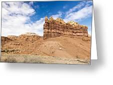 Ojitos De Los Gatos Panorama - New Mexico Greeting Card