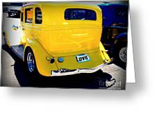 Ol Yeller Greeting Card