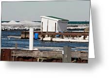 Olcott Beach Harbor Greeting Card