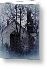 Old Abandoned Church Greeting Card