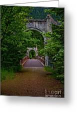 Old Alexandra Bridge Greeting Card