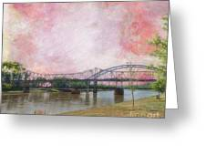 Old Amelia Earhart Bridge Greeting Card