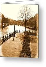 Old Amsterdam Greeting Card