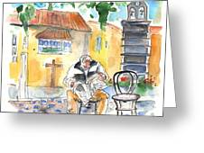Old And Lonely In Tenerife 01 Greeting Card