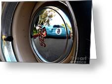 Old And New Ford Hotrods Greeting Card