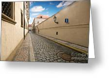 Old Architecture In Prague Greeting Card