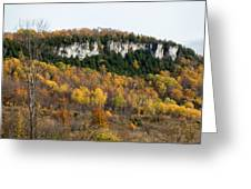 Old Baldy In Fall Greeting Card