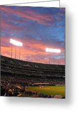 Old Ball Game Greeting Card by Photographic Arts And Design Studio