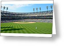 Old Ball Park Greeting Card