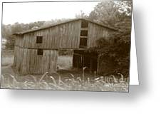 Old Barn 3 Greeting Card