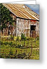 Old Barn #3 Greeting Card