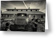 Old Barn And Truck Greeting Card
