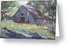 Old Barn In Arkansas Greeting Card