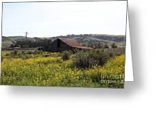 Old Barn In Sonoma California 5d22234 Greeting Card