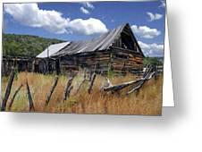 Old Barn Las Trampas New Mexico Greeting Card